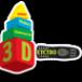 Логотип компании 3Dетство