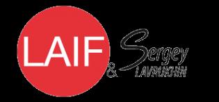 Логотип компании LAIF & Sergey Lavrukhin