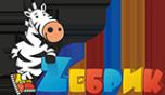 Логотип компании Zебрик