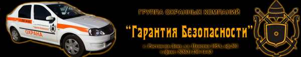 Логотип компании Гарантия безопасности