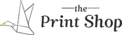 Логотип компании Print Shop