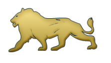 Логотип компании Золотой Лев