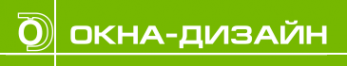 Логотип компании ОКНА-ДИЗАЙН