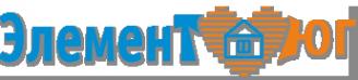 Логотип компании Элемент-Юг