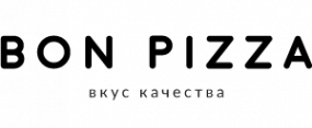 Логотип компании Bon pizza